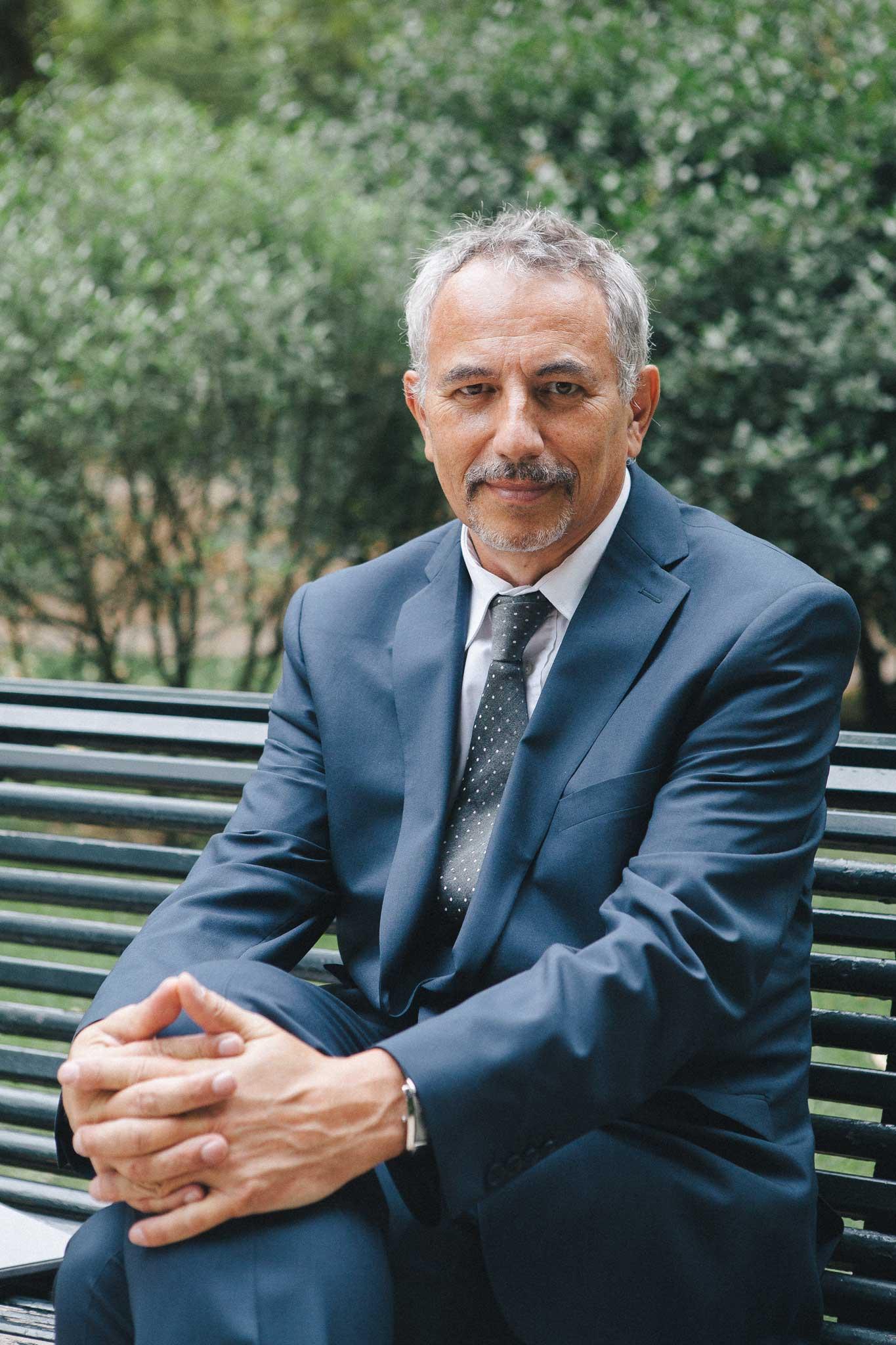 Portrait d'André de Séguin directeur de l'ELEAD