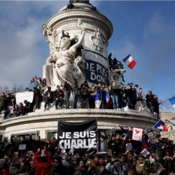 "Photo manifestation parisienne ""Je suis Charlie"""